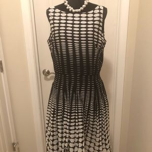 Talbots Cotton Sleeveless Dress NWT
